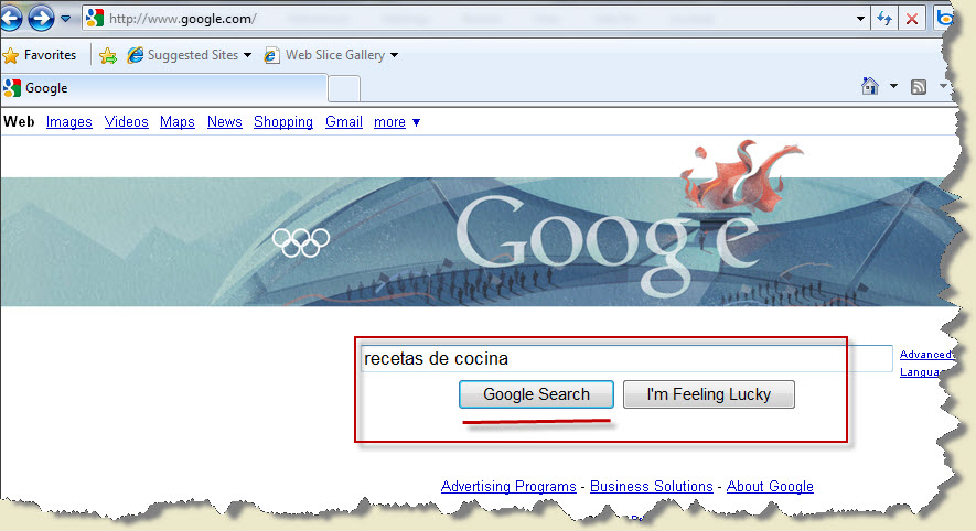 como buscar informacion en google