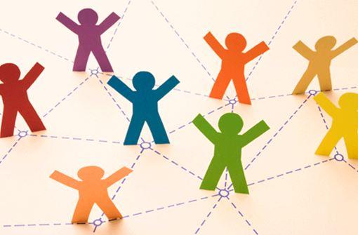 red humana ejemplo de un network de personas